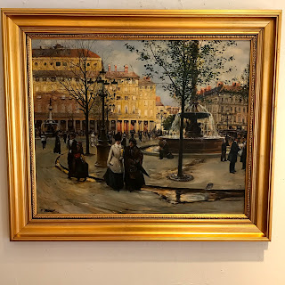 M. Peter Signed Oil Painting