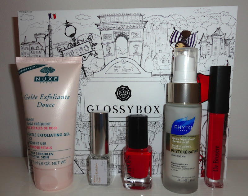 October 2015 Glossybox 3