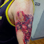 arm - Iron Man Tattoos Pictures