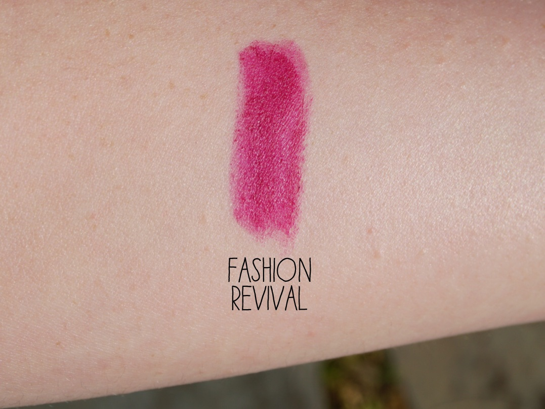mac fashion revival swatch review