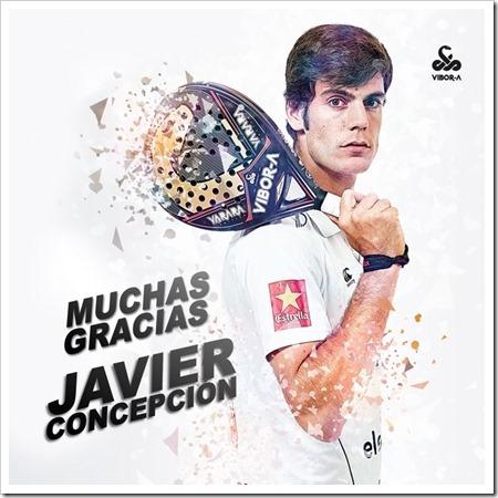 """Javier Concepción anuncia su retirada del pádel profesional. Un jugador muy """"grande"""" dentro y fuera de la pista."""