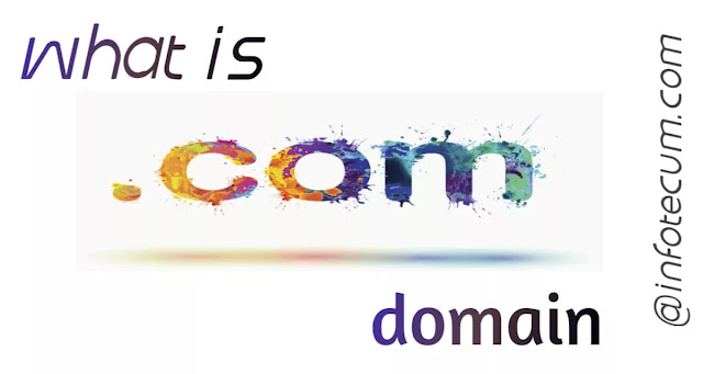 difference between.com and.in domain