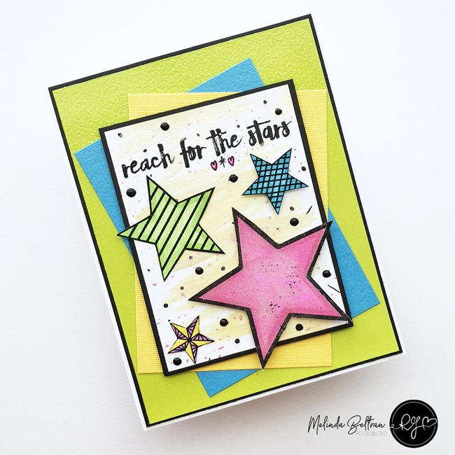 rgstudio360 reach for the stars card