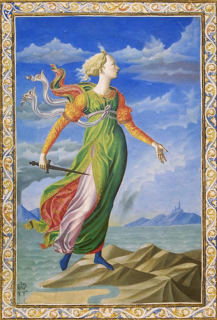 Francesco Pesellino - Allegory of Carthage