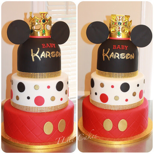 Tlite Cakes And Planning King Mickey Mouse Baby Shower