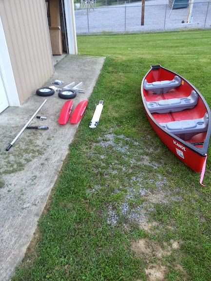 Canoe - Stabilizer/Wheel Kit - Other Modifications