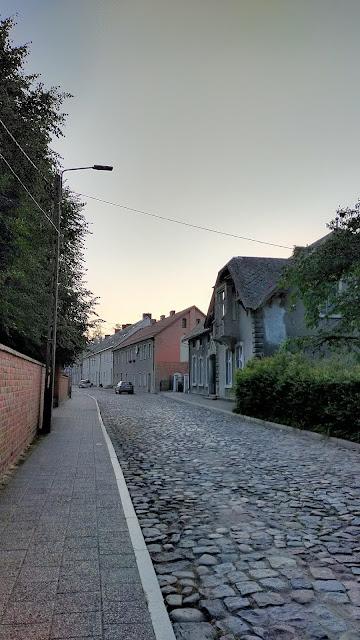 ulica brukowana