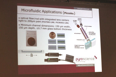 「Pyroscience社の光学式酸素モニターシステム:概要・原理・アプリケーション・新製品のご紹介」 Dr. Andrea Wieland