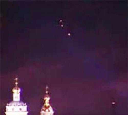 A Group Of Ufos Recorded In St Petersburgs Skies