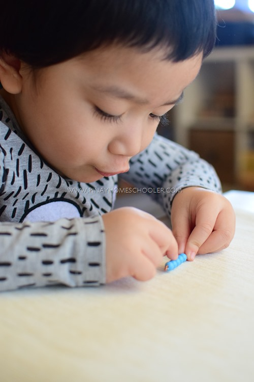 Counting with the Montessori Beads