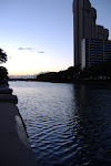 """A river runs through it.  """"It"""" being Honolulu, of course."""