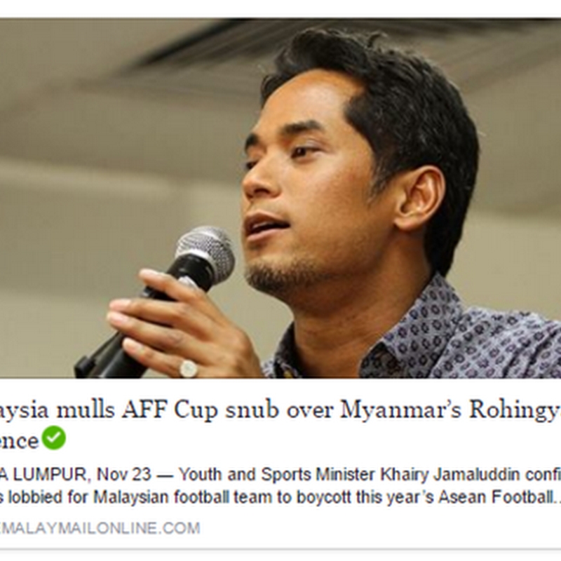 Wajar boikot Piala AFF kali ini ?