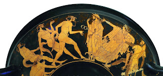 Οι Σάτυροι ήταν Κρόνιοι της ελληνικής μυθολογίας, που έγιναν πνεύματα των δασών και των βουνών.