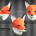Hướng dẫn làm mặt nạ đầu thú 3D - Hình cáo (Fox mask)
