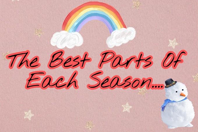 The Best Part Of Each Season