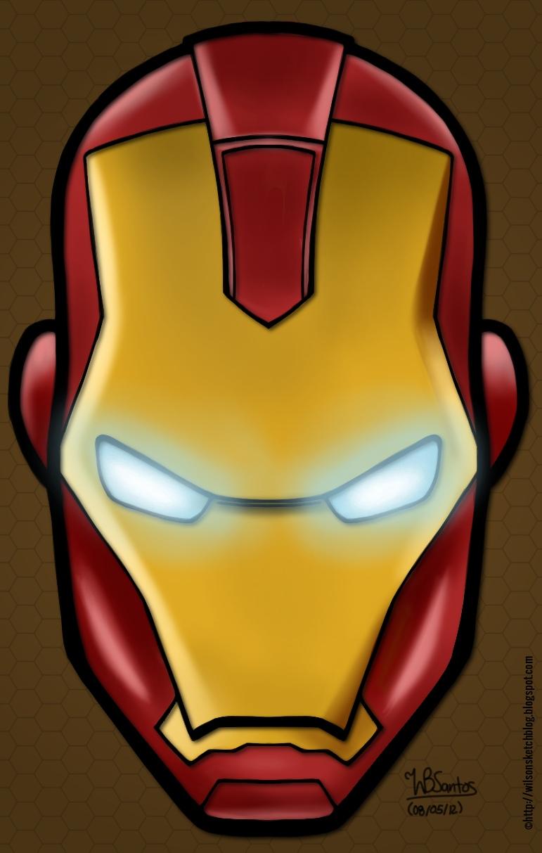 Iron Man Easy Face Paint
