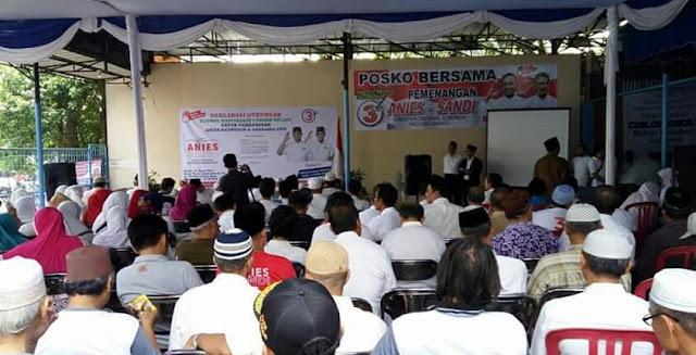 Haji lulung deklarasikan dukungan untuk anies sandi