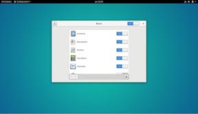 Como configurar GNOME con detalle. Configuración personal. Buscar 2.