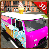 Ice Cream Delivery Truck: Transport Van Simulator