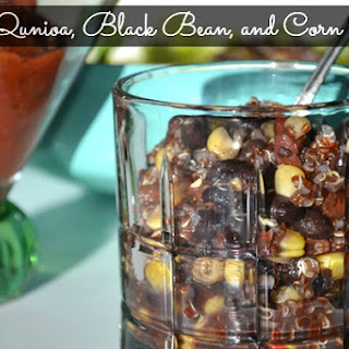 Red Quinoa, Black Bean, and Corn Salad Recipe