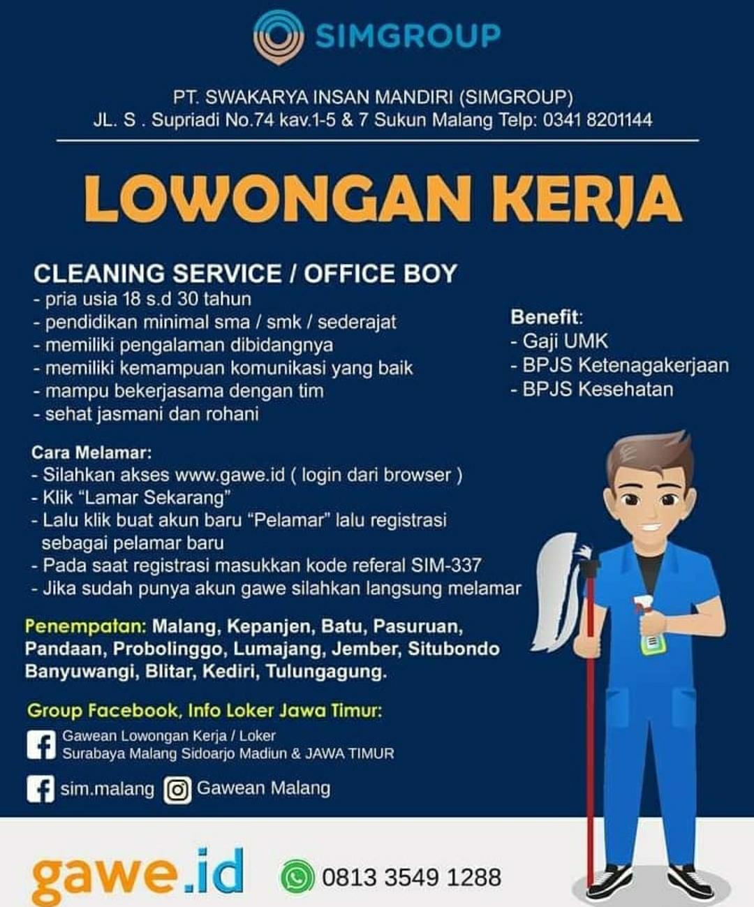 Get Lowongan Kerja Cleaning Service 2021 Gif