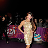 WWW.ENTSIMAGES.COM -    Lizzie Cundy at  Cirque Du Soleil: Kooza VIP Royal Albert Hall London January 8th 2013                                                       Photo Mobis Photos/OIC 0203 174 1069