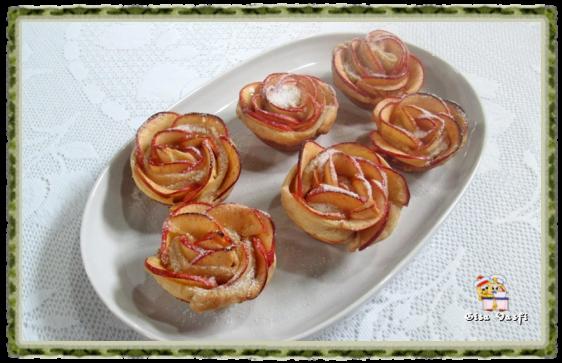 Rosas de maçãs 1