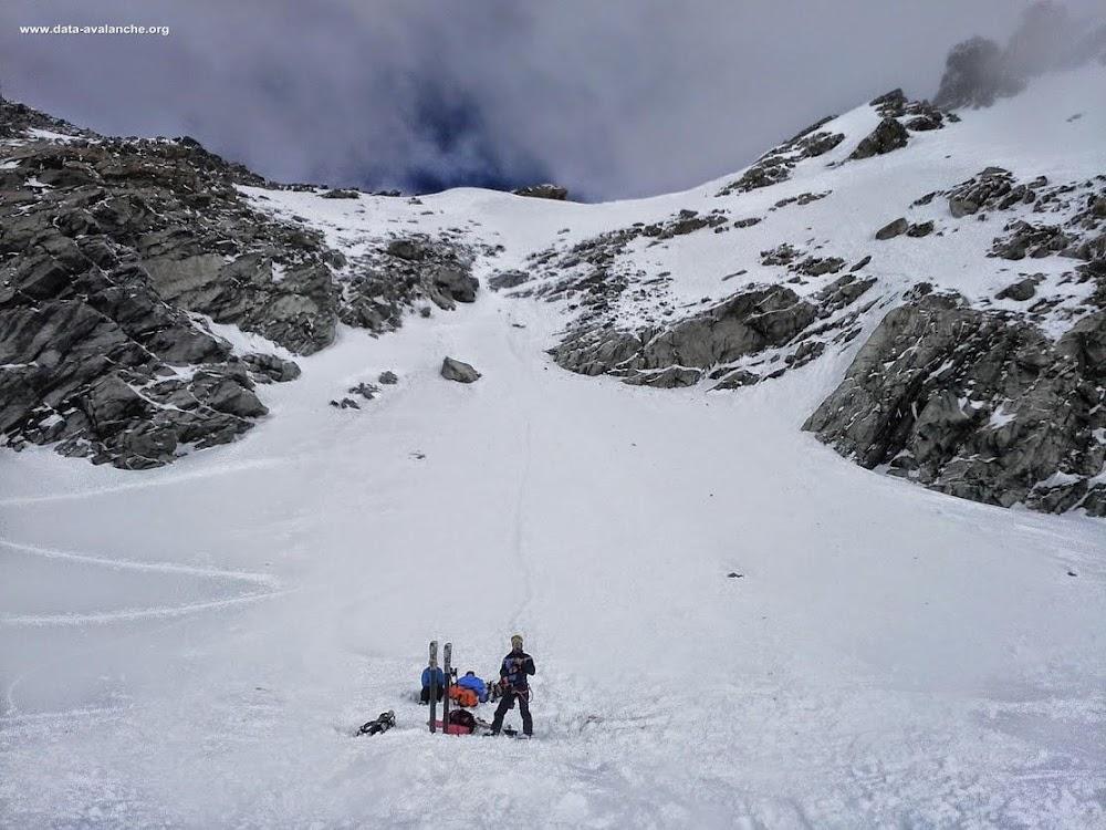 Avalanche Vanoise, secteur Aiguille de Péclet, Glacier de Chavière - Roc des Saint Pères - Photo 1