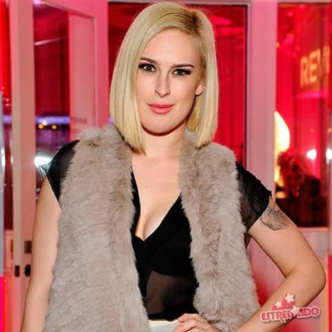 Rumer Willis  on the ramp