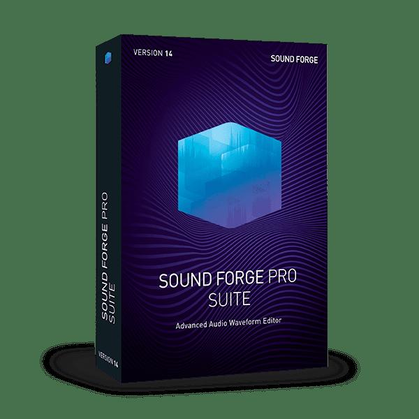 MAGIX SOUND FORGE Pro Suite v15.0.0.45 + Patch