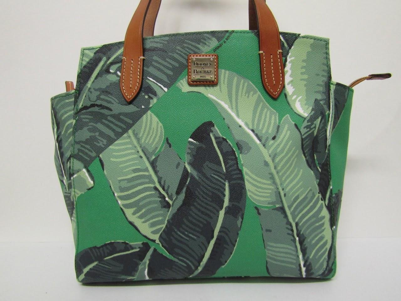 Dooney & Bourke Banna Leaf Tote