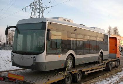 Castrosua Tempus CNG Hybrid - autobus gazowy ufundowany przez rząd Hiszpanii dla Litwy