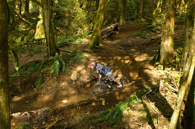 Riding the singletrack at Galbraith Mountain.Credit: Jadyn Welch