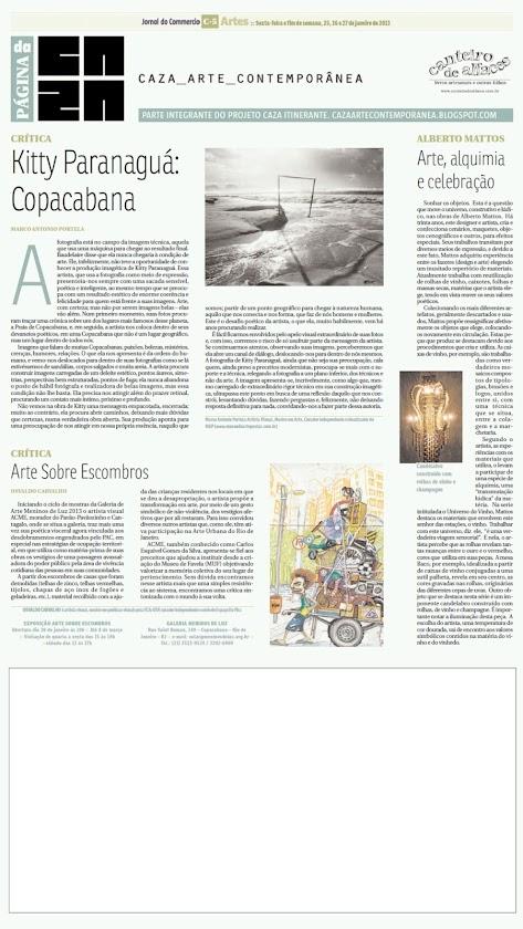 Página da Caza - 25 de Janeiro de 2013