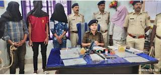 सहरसा पुलिस और एसटीएफ की संयुक्त कार्रवाई में सलखुआ थाना क्षेत्र के कुख्यात अपराधी विपिन पहलवान गिरफ्तार