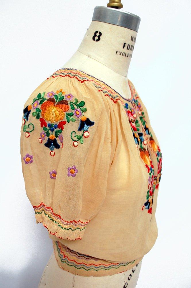 Vintage Peasant Blouses Wearing History Blog