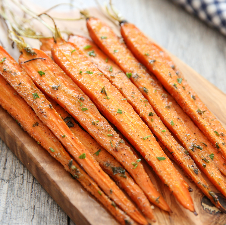 Ranch Roasted Carrots