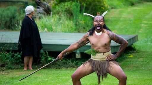 "Traditional Maori Welcome ""Powhiri"""