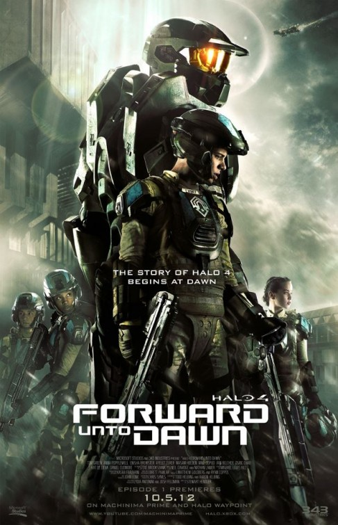 Cuộc Chiến Giành Hòa Bình - Halo 4 Forward Unto Dawn (2012)