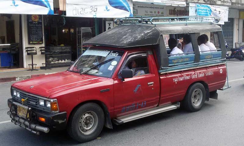 carrinha taxi krabi