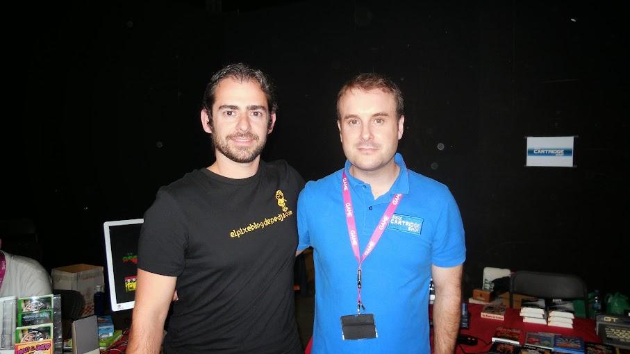 Con Manuel Pazos