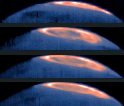 grande mancha fria em Júpiter
