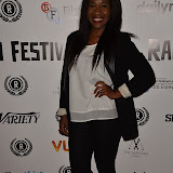 OIC - ENTSIMAGES.COM - Karen Bryson at the Raindance The Carrier Film Premier  at the Vue in Piccadilly  , London on the 30th September 2015. Photo Mobis Photos/OIC 0203 174 1069