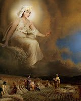 Θεά Δήμητρα,θεά της γεωργίας,δημιουργός φυτών,μητέρα Περσεφόνης,Goddess Demeter.