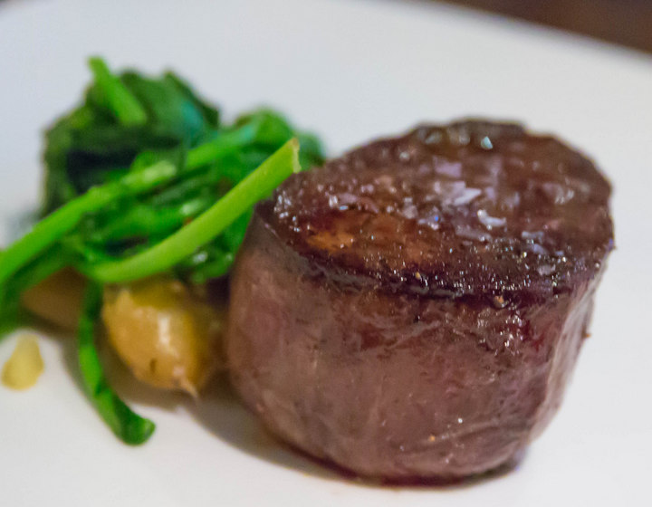 photo of Petite Filet Mignon, Smashed Potato, Broccoli Rabe