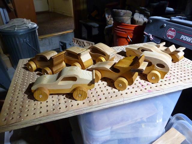 "Handmade Wood Toy Cars ""Speedy Wheels"" Mounting Wheels"