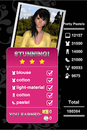Style Me Girl Level 40 - Pretty Pastels - Liz - Stunning! Three Stars