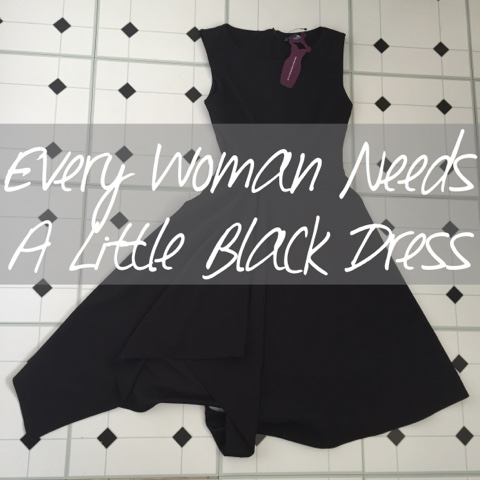 every woman needs a little black dress