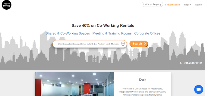 Top 5 Coworking Space In Thane