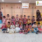 Dusshera celebration by Jr KG Section (2018-19) at Witty World, Bangur Nagar